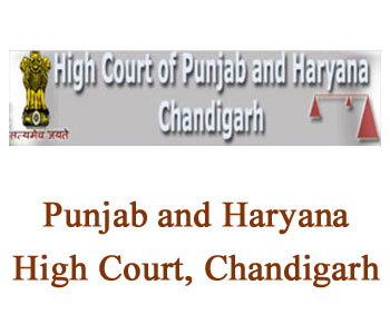 HARYANA  AND PUNJAB AT CHANDIGARH SUBORDINATE COURTS